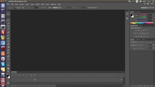 Ubuntu - Adobe Photoshop CS6 Kurulum