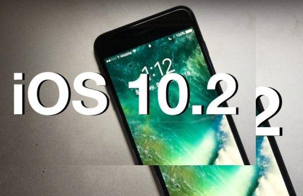 iOS 10.2 Güncellemesi